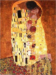 The Kiss by G. Klimt