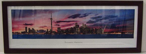 Panoramic View of Toronto, Ontario