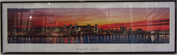Panoramic View  of Montreal, Quebec