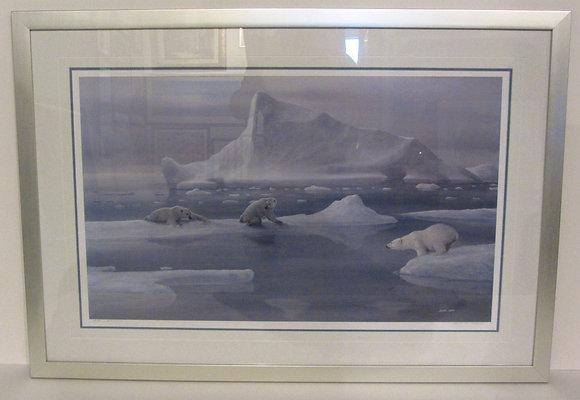 Polar Bears- Limited edition print - David Jean