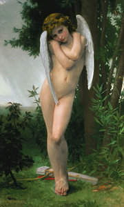 Cupedon by Bouguereau