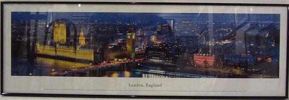 Panoramic of London, England