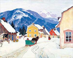 Laurentian Village by Gagnon
