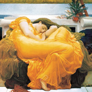 Flaming June by Leighton