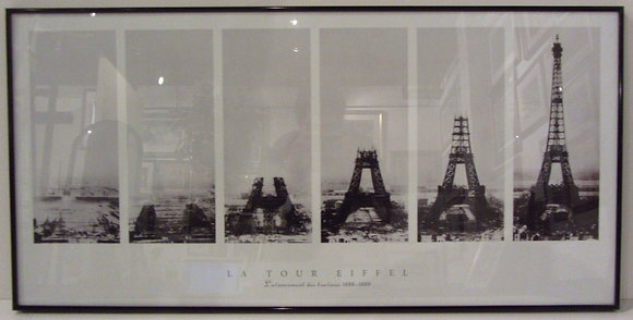 Construction of Eiffel Tower
