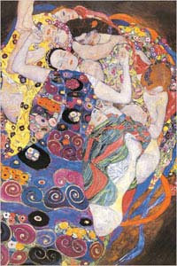 Die Jungfrau  (The Virgin) 1909 by Gustav Klimt