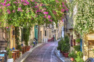 Plakas, Acropolis- Athens