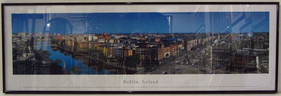 Panoramic of Dublin, Ireland