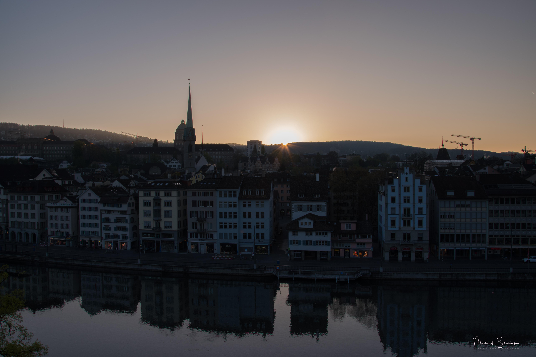 Sonnenaufgang Zürich_1
