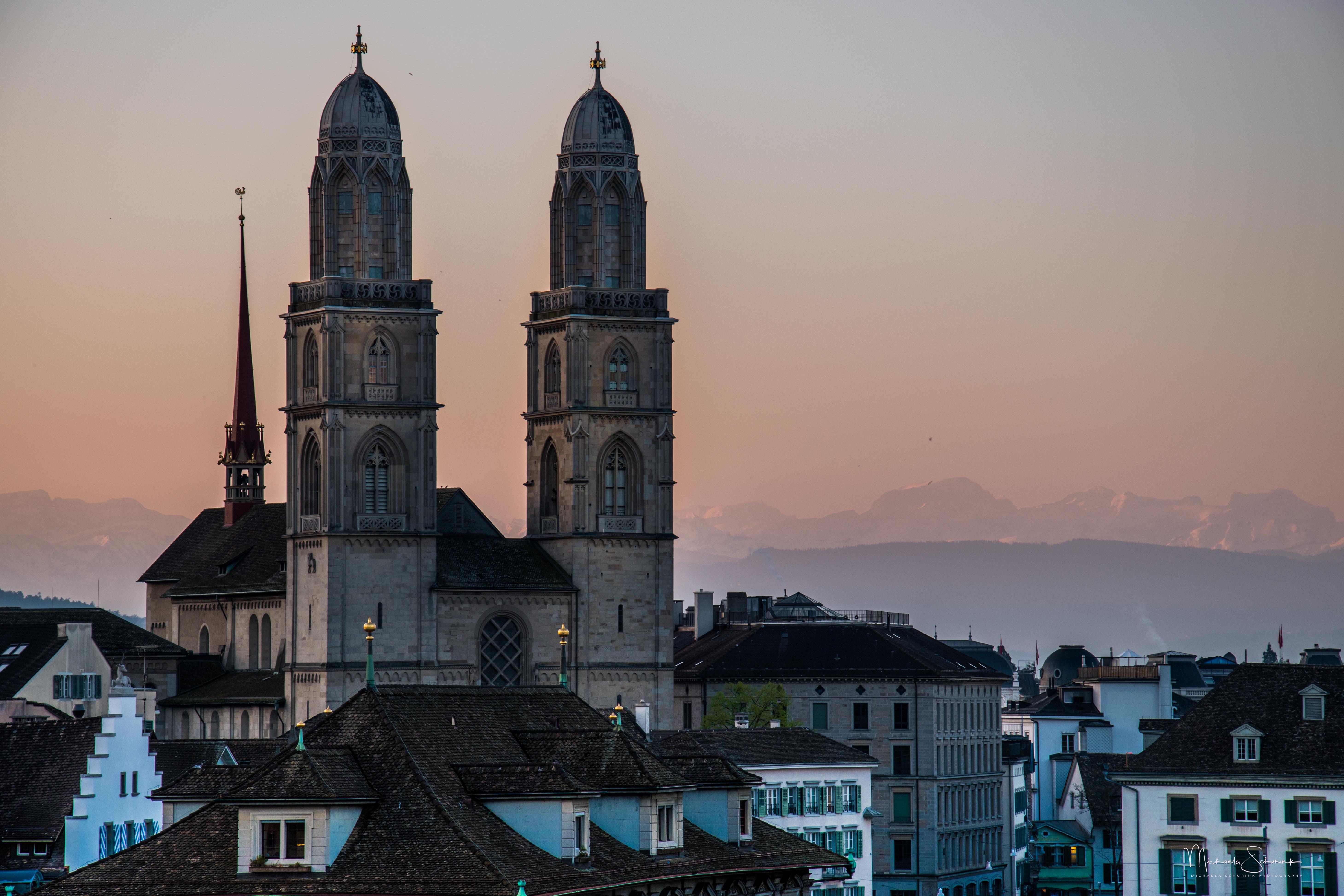 Sonnenaufgang Zürich_3