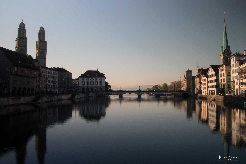 Sonnenaufgang Zürich_4