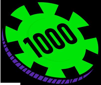 1000 FICHAS
