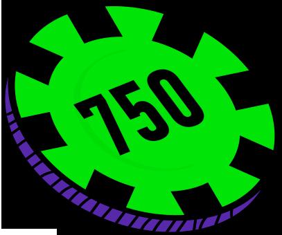 750 FICHAS