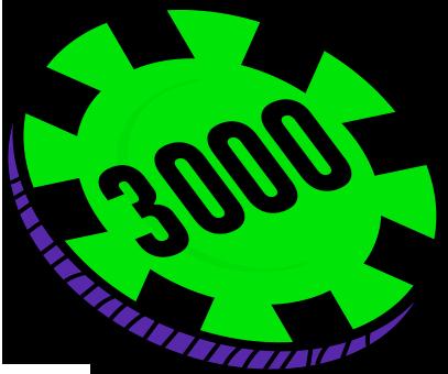 3000 FICHAS