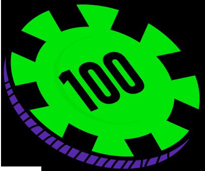 100 FICHAS