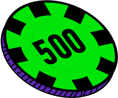 500 FICHAS