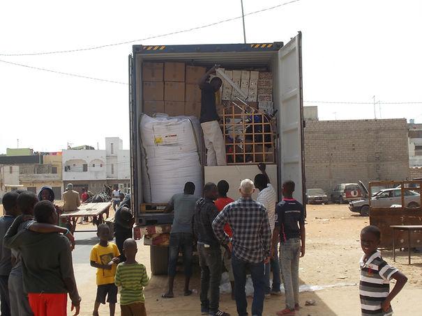 expédition effets personnels Sénégal
