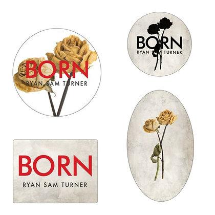 Born Sticker Set