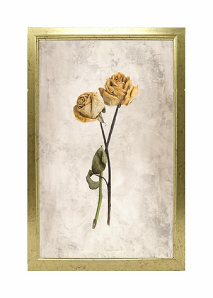 Born A4 Rose Framed Poster - Limited Edition (25 Available)