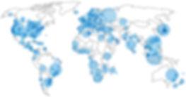 Count Me In Volunteer Map, 100 Million Volunteer Hours Recorded