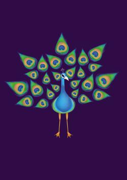 Peacock Totem