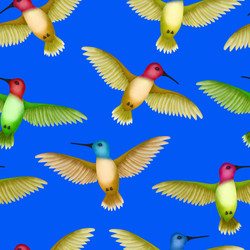 Hummingbirds totem