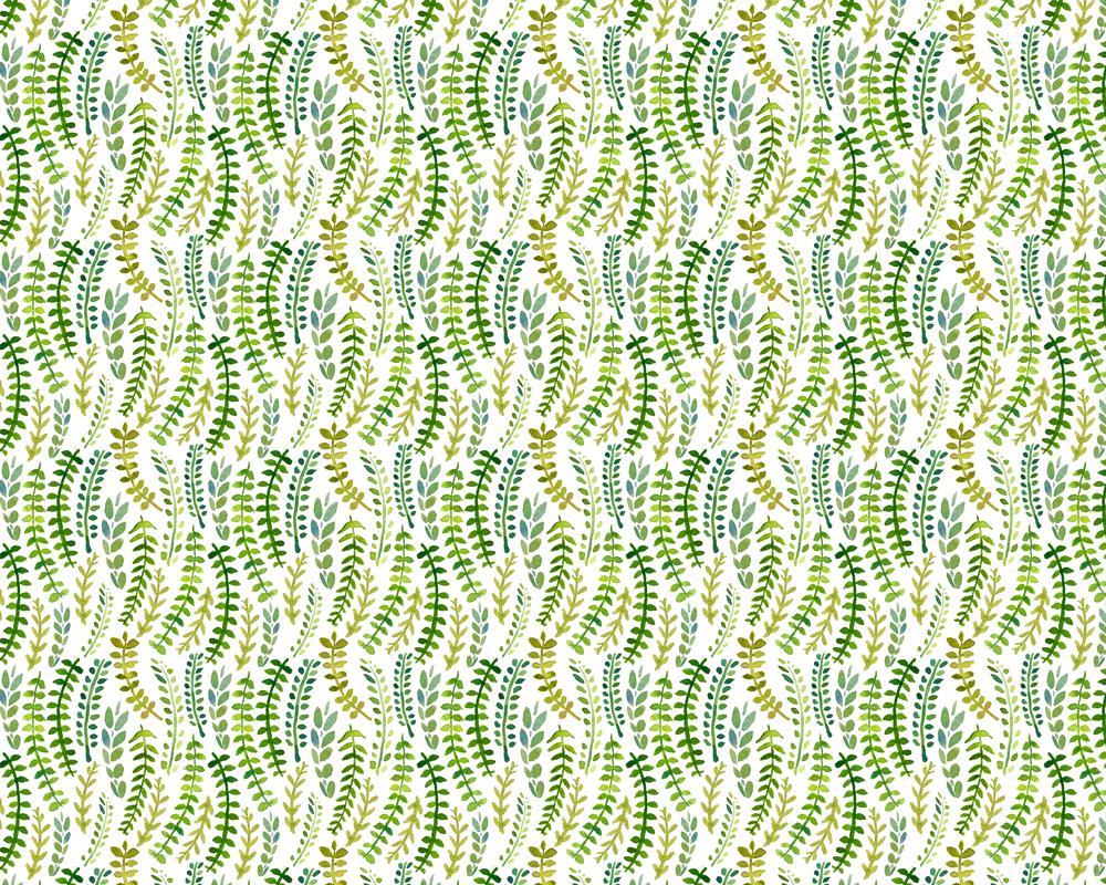 Vine Leaf Pattern