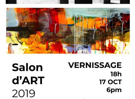 Salon d'Art 17-20 oct à L'Hôtel de Ville de Mont-Royal, Mount Royal Town Hall Oct 17-20 Art Show