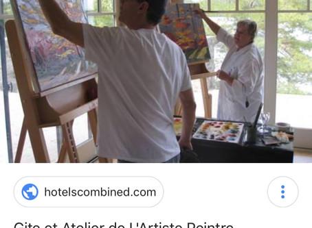 Séjour artistique de trois jours à Sainte-Marguerite du Lac Masson, Québec, avec Gordon Harrison