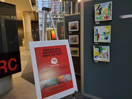 L'encan des artistes Ville de Montréal SGPI, pour Centraide, le 5 nov 2020, un franc succès !