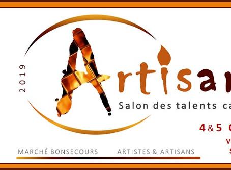 Venez me voir, au Kiosque #41, Marché Bonsecours, Vieux Mtl soirée cocktail 4 oct dès 17h.