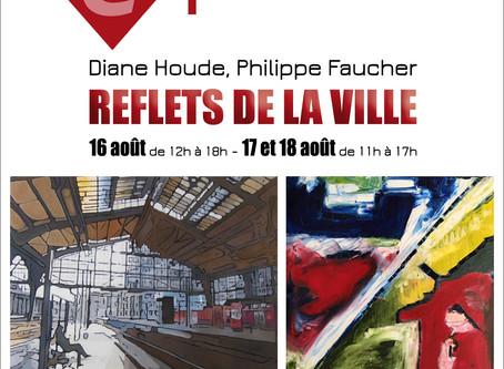 Exposition à la salle polyvalente de la Gare de Piedmont 16-18 août