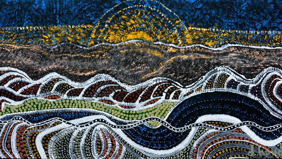 Couché de soleil en Nouvelle Zélande