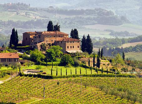 Séjour artistique à Panzano, Toscane, Italie, avec l'artiste-peintre paysagiste