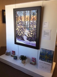Exposition à Manotick Art Gallery and Framing : mars et avril, 2018.