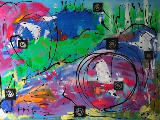L'Espace Jérome B. vous invite à mon exposition solo grands formats; Attitudes Intérieures.