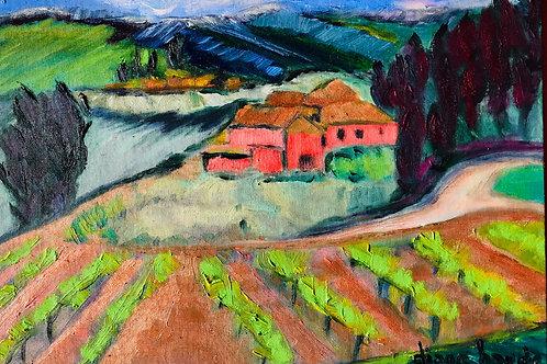 Villa Rose, Panzano, Toscane