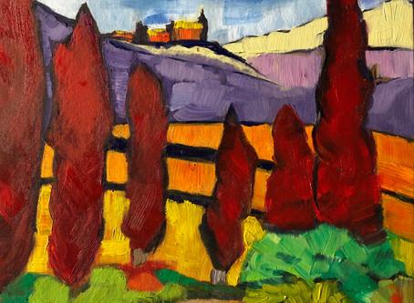 Exposition Toscane, 2-3 novembre à la galerie Gordon Harrison, 465 Sussex Drive , Ottawa, K1N-6Z4.