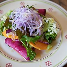 千葉の農家さん直送 無農薬野菜のサラダ