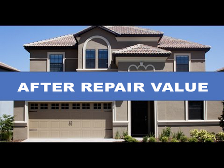 What is AVR and how to determine AVR(After Repair Value) of a property?