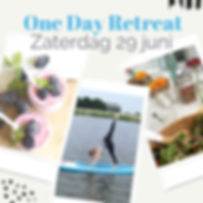 One Day Retreat Summer edition