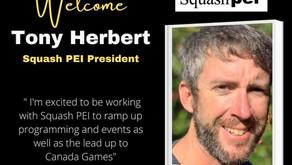New Squash PEI President