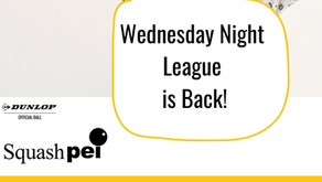 League Session 1 Starts Oct 20