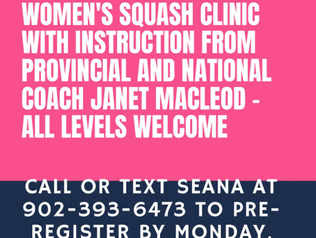 Free Woman's Clinic with Janet MacLeod