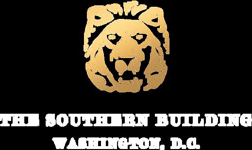 Southern Building Logo - Gold - White Te