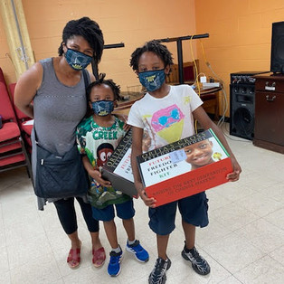 """Orita's Cross Distributes """"Future Freedom Fighter"""" kits to Black youth"""