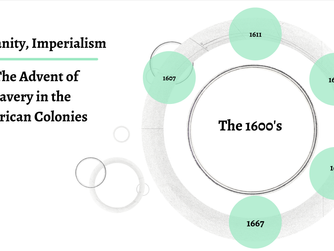Christianity & Imperialism: The 1600's
