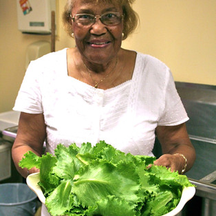 "Maxine Nicholas: ""Mother"" of Church Garden"