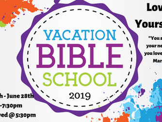 Register for Vacation Bible School 2019!
