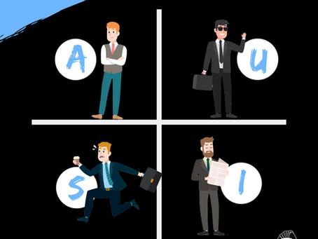 Der Cashflow-Quadrant - Die vier Einkommensarten und was sie über unseren Charakter aussagen